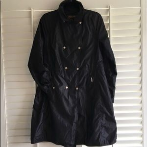 WOOLRICH JOHN RICH & BROS black long jacket coat